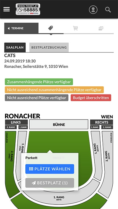 WIEN TICKET | wien-ticket.at | 2015 (Mobile Only 07) © echonet communication GmbH